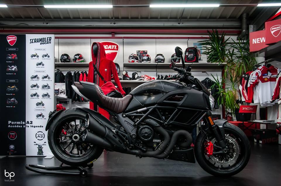 Ducati Diavel Diesel série limitée à 666 exemplaires