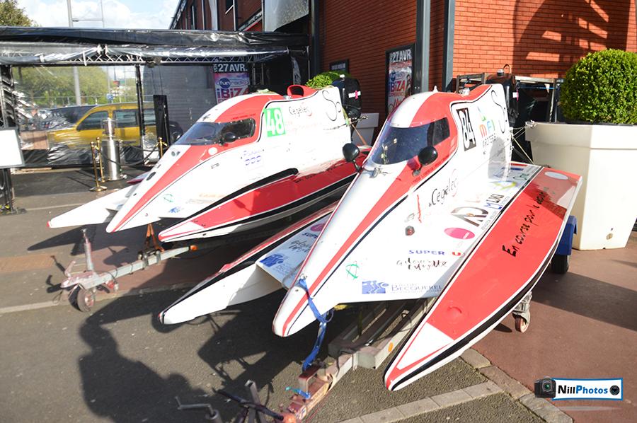 Présentation des bateaux du Team Magaur pour les 24h motonautiques de Rouen 2018 26.04.18 nillphotos